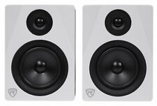 "Rockville APM5W 5.25"" 2-Way 250W Active/Powered USB Studio Monitor Speakers Pair"