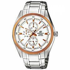 Casio Edifice EF-338DB-7ADF Analog Men's Stainless Steel Water Resistant Watch