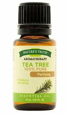 6 Pack Nature's Truth Aromatherapy Tea Tree Pure Essential Oil 0.51 Oz Each