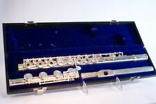 Gemeinhardt Solid Silver Flute with hard case, soft carrying case