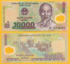 Vietnam Viet Nam 10000 (10,000) Dong p-119 2018 UNC Polymer Banknote