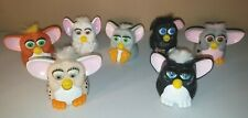 McDonalds 1998 Furby Toys Lot of 7 Furbies Happy Meal Collector Plastic Toys GUC