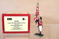 Britains 43141 Redcoats británico alférez Reyes propio 4th Regt de pie 1810 1815 NJ