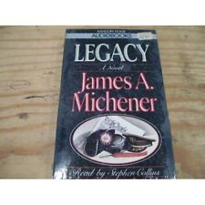 Legacy By James A Michener On Audio Cassette
