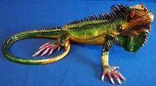 More details for juliana treasured trinkets large iguana metal trinket box 14899 reptile lizard