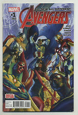 All-New All-Different Avengers #1 2016 Ms Marvel Nova Iron Man Spider-Man Ross u