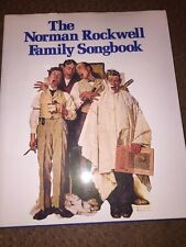 The Norman Rockwell Family Songbook  Piano And Guitar -HB-Free Shipping
