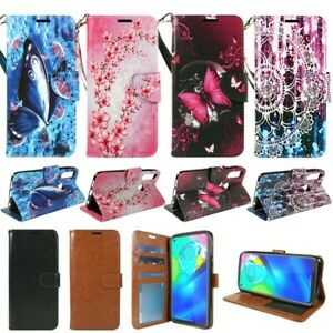 For Motorola Moto E (2020), PU Leather Wallet Phone Case Cover Flip Stand Strap