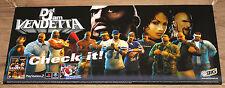 2003 Def Jam Vendetta very rare Promo Poster PS2 Gamecube 85x35cm