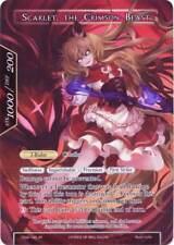 FOW TCG The Dusk Girl Scarlet the Crimson Beast TSW-142 Ruler Force of WIll MINT