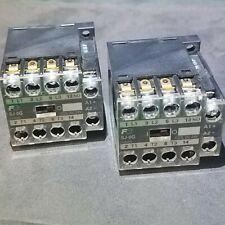 Fuji Electric - SJ-0G - SJ12AG Contactor - 24VDC Coil - Cat. No. 1JC0A0 - 2 each