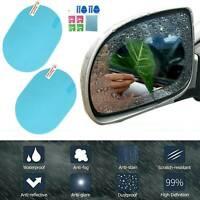 2PCS Rainproof Car Rearview Mirror Stickers Anti-fog Protective Film Rain Shield