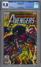 Avengers #175 CGC 9.8 NM/MT Wp Marvel Comics 1978 Guardians of the Galaxy GOTG