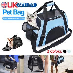 LARGE Pet Carrier Bag AVC Portable Soft Fabric Folding Dog Cat Puppy Travel UK
