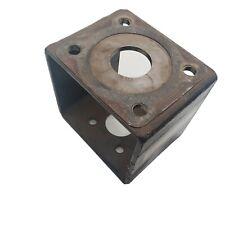 Hydraulic Motor Pump Mount Bracket Box Welded Steel