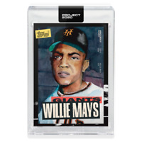TOPPS PROJECT 2020 CARD Giants willie mays #101 Jacob Rochester CENTERED