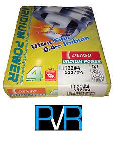 4x DENSO Iridium Power High Performance Spark Plug IT22