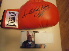 Iran the Blade Barkley hand signed Everlast Glove Photo Proof