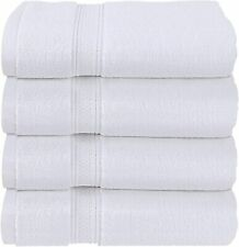 Pack of 4 Bath Towels Set 27 x 54 Inches Cotton Soft 600 Gsm Utopia Towels