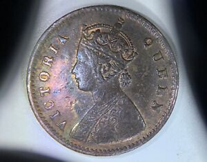 INDIA: 1876 1/12 Anna —————————> HARDER TO FIND DATE