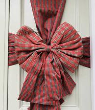 Christmas Front Door Bow 8Colours Festive Door Bow Seasonal Christmas Decoration