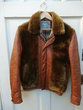 Grizzly Jacket Mouton Leather Jacket William Barry Struggle Gear Small Medium