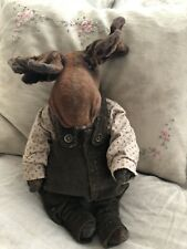 Ooak Teddy Moose Bear