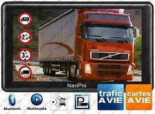 GPS Poids Lourd 9 Pouces (22cm) Camion ET Bus Europe Gratuite a Vie InfoTrafic