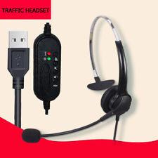 USB Kopfhörer Headset Telefon Stereo Computer PC Laptop Headphone mit Mikrofon