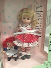 "New Listingmadame alexander dolls 8 inch ""Raggedy Ann And Me� (45429)"