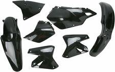 R TEC  PLASTIC KIT SUZUKI DRZ400 DRZ400E DRZ400S DRZ400ES BLACK  SHROUDS FENDERS