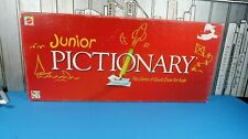 Junior Pictionary Board Game Mattel *Incomplete*
