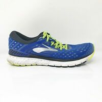 Brooks Mens Transcend 6 1102991D419 Blue Black Running Shoes Lace Up Size 10.5 D