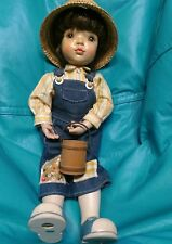 "ANRI 14"" WOOD doll, hand carved ""HENRY"" by Sarah Kay 1991 LIMITED EDITION ITALY"