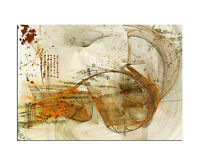 Abstrakt/_1298/_5 teilig 150x100cm modernes Leinwandbild Paul Sinus modern XXL