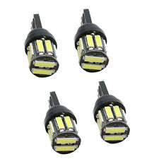 4X T10 7020SMD 10 LED W5W Wedge Tail Side Car Lights Turn Parker Bulbs 12V White