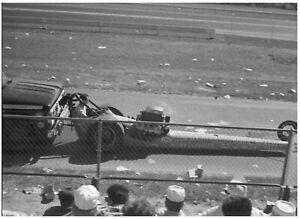 "1960's DRAG RACING Detroit Don Garlits Wynn's Charger 11x8"" photo"