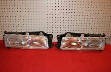 1989-1992  Colt Mirage Summit RH Right & LH  Left pair  Headlight Head Lamp