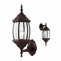 Outdoor Exterior Wall Lantern Light Fixture, Oil Rubbed Bronze