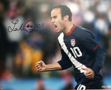 Landon Donovan Signed auto UDA 16x20 Photo Upper Deck Team USA