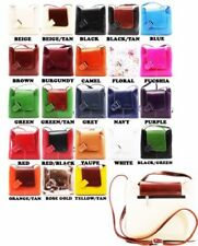 Vera Pelle Messenger Crossbody Handbags