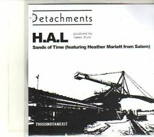 (DT655) Detachments, H.A.L - 2010 DJ CD