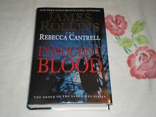 INNOCENT BLOOD by JAMES ROLLINS & REBECCA CANTRELL     **Signed**