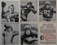 1948 BOWMAN FOOTBALL REPRINT SET BAUGH LUJACK LUCKMAN