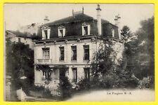 cpa RARE NANCY (Meurthe et Moselle) VILLA Les FOUGÈRES rue de METZ en 1918