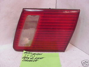 MITSUBISHI DIAMANTE 97-01 1997-2001 INNER TAIL LIGHT PASSENGER RH RIGHT OE
