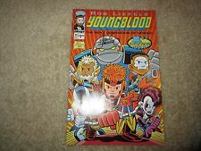 YOUNGBLOOD #71 VARIANT SIGNED BY CHRIS GIARUSSO RARE!!!