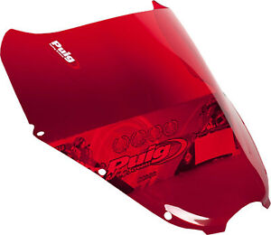 PUIG RACING SCREEN RED HYOSUNG GT 650 S/R PART# 4184R NEW
