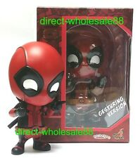 Authentic Hot Toys Deadpool Cosbaby Gesturing Version - Deadpool Figure  DC