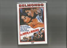"JEAN PAUL BELMONDO - GINA LOLLOBRIGIDA "" LA MER A BOIRE  ""    DVD NEUF"
